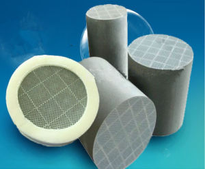 Honeycomb Ceramic Sic DPF Diesel Particulate Filter for Engines Exhaust pictures & photos