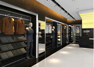 Classic Men Clothes Shop Shelves, Garment Rack, Store Display pictures & photos