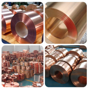 China Supply Copper Plate Price 99.99%, Oxygen Free Copper pictures & photos