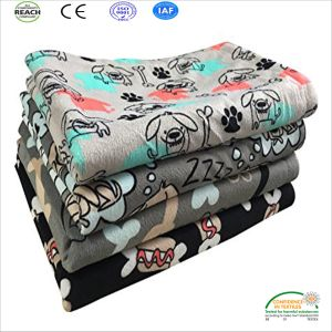 2017 Hot New Products Pet Supplies Dog Blanket with Funny Jokes Picture pictures & photos