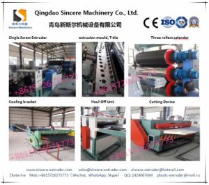 HDPE Geocell Sheet Extrusion Line Extrusion Equipment PE Sheet Prudoction Machine pictures & photos