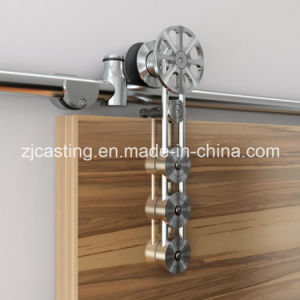 Modern Style Pinwheel Heavy Duty Sliding Barn Wood Door Hardware pictures & photos
