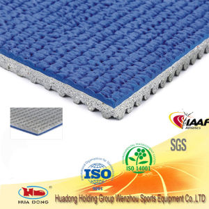 Indoor&Outdoor Prefabricated Rubber Flooring for Running Track pictures & photos