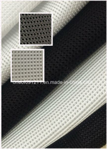 White and Black Color Mesh Fabric for Seat Cover /Shoe Material pictures & photos