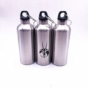 500ml Stainless Steel Vacuum Insulated Water Bottle with Hook pictures & photos