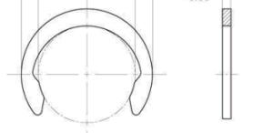 M1800 Metric C Ring pictures & photos