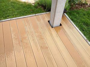 Wood Plastic Compsite Outdoor Decking pictures & photos