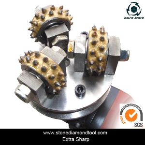 125mm 3 Rollers Litchi Surface Grinding Bush Hammered Roller pictures & photos