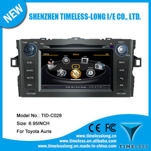2 DIN Car Audio for Toyota Auris 2008-2011 with Built-in GPS A8 Chipset RDS Bt 3G/WiFi DSP Radio 20 Dics Momery (TID-C028)
