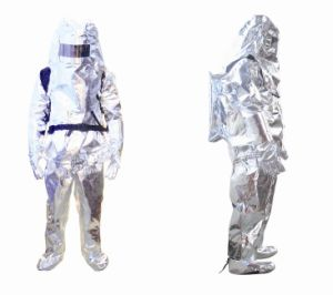 Fireman′s Heat Insulation Suit/Nomex Fire Suit for Fire Fighting pictures & photos