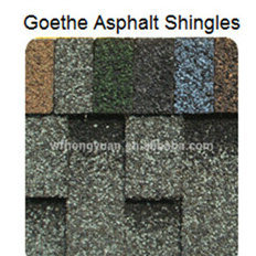 Goethe Asphalt Roof Shingle /Self Adhesive Colorful Fibreglass Roof Tile /Bitumen Roofing Material with ISO (12 Colors) pictures & photos