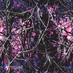 Yingcai 1m Purple Camouflage Water Transfer Printing Hydro Dipping Film pictures & photos