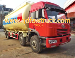 FAW 8x4 50 Tons Bulk Cement Tank Truck pictures & photos