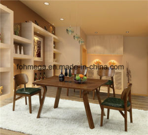 High End Solid Wood Table Set Restaurant Furniture (FOH-BCA64) pictures & photos