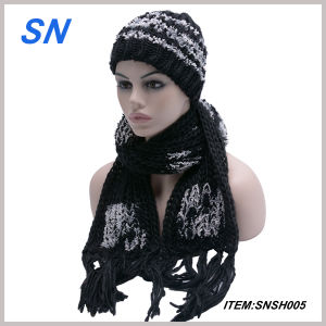 2015 Fashion New Winter Hat Scarf Set for Women pictures & photos