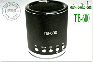 Aluminum Alloy Laptop Portable Mini Speaker TB-600