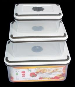 3PCS Set High Quality Plastic Container pictures & photos