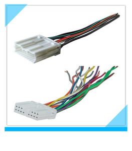 Factory Custom Mitsubishi DVD Player Audio Wiring Harness pictures & photos