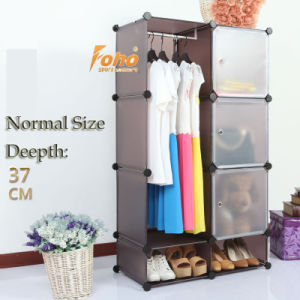 Brown Plastic DIY Storage Cbinet with Many Colors Available (FH-AL0523-3) pictures & photos