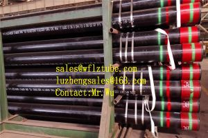 Steel Pipe 5inch, API 5 CT J55 Seamless Steel Tube pictures & photos