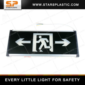 EL-A57-Double Fire Emergency Light Acrylic Emergency LED Exit Light pictures & photos