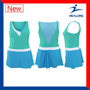 Healong Top Sale Sportswear Dri Fit Full Sublimation Tennis Jersey pictures & photos