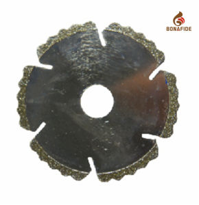New Type High Quality Electroplated Diamond Cutting Blade pictures & photos