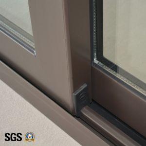 High Quality Powder Coated Aluminum Sliding Window (pop lock & handle lock) K01027 pictures & photos