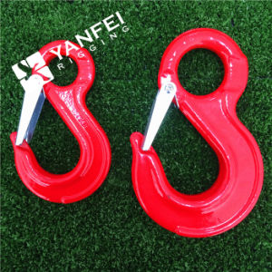 G80 Drop Forged Eye Sling Hook with Cast Latch pictures & photos