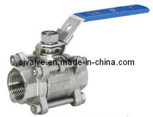 2 Way Stainless Steel Float Ball Valve pictures & photos