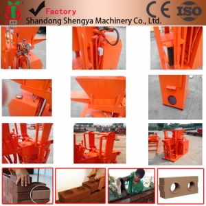 Sy1-25 Automatic Hydraulic Soil Interlocking Brick Moulding Machine pictures & photos