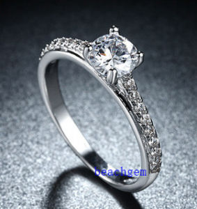 Hot Sell Jewelry- Cubic Zirconia Brass Rings (R0831) pictures & photos