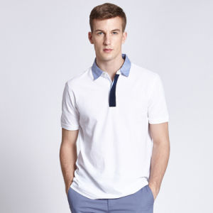 65% Cotton 35% Polyester Polo Shirt, Mens Summer Polo Shirt, Dri Fit Polo Shirts Wholesale pictures & photos