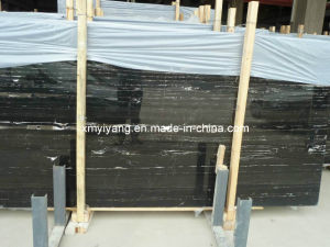 White Black Marble Stone Slabs (YY-MT2102) pictures & photos