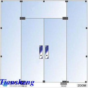 High Quality Customized Sliding Frameless Tempered Glass Door pictures & photos