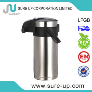 Hot Sales Stainless Steel Insulated Thermos Pump Pot with LFGB (ASUE019S) pictures & photos