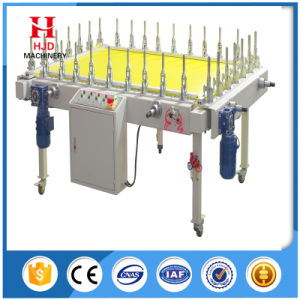 Hjd-E7 Motor-Driven Screen Frame Stretching Machine for Sale pictures & photos