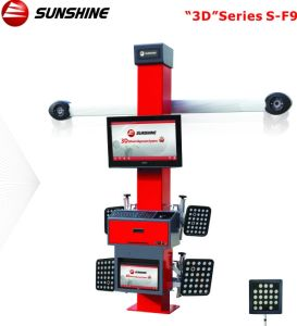 F9 3D Camera Movable Wheel Alignment Equipment, Dual Display