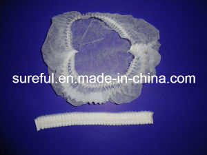 Disposable Spunbond Non Woven Mob Cap for Medical Use pictures & photos