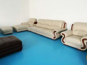 Modern Leather Sofa, Living Room Set, Sectional Sofa (658) pictures & photos