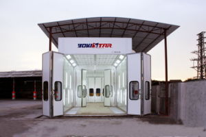 Downdraft Waterborne Paint System Paint Spray Booth pictures & photos