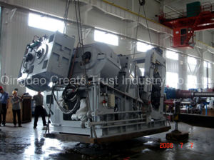 China Top Quality Double Conical-Screw Extruder and Sheeter pictures & photos