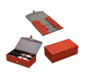 Double Foldable Paper Wine Box (TW-WB0040)