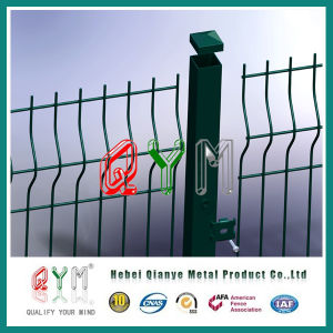 High Security 3D Curvy Welded Wire Mesh Fence pictures & photos