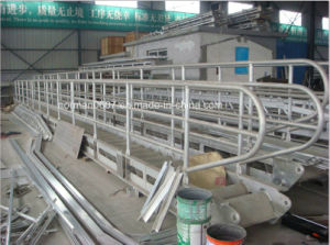 11.4m Marine Aluminium Translational Gangway, China Sola Wharf Ladder Prices pictures & photos