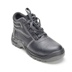 Oil-Resistant Dual Density PU Injected Sole Safety Shoes