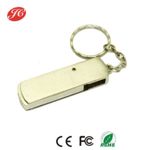 Promotion Twister Metal USB Disk with Keyring