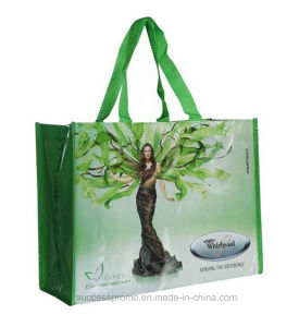 PP Woven Shopping Bag with Customized Degisn pictures & photos
