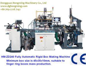 Automatic Rigid Box Machine (HM-ZD240) for Necklace Boxes