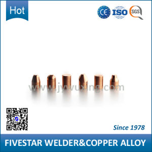 Tungsten Copper Welding Cap for Steel Drum Welders
